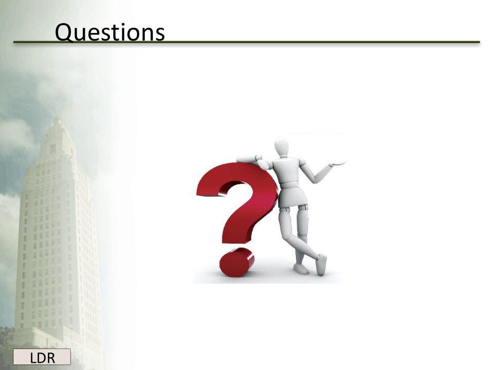 LDR Questions