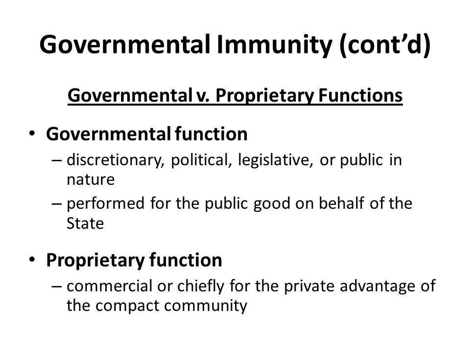 Governmental v.