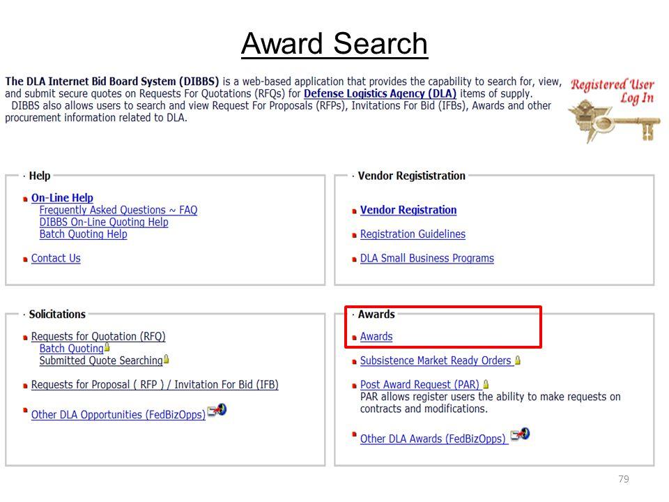 Award Search 79