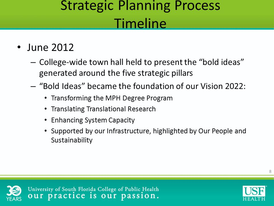 49 Moving Forward We can not reiterate enough – this is a living plan.