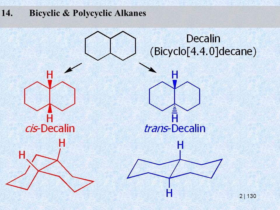 14.Bicyclic & Polycyclic Alkanes 2   130