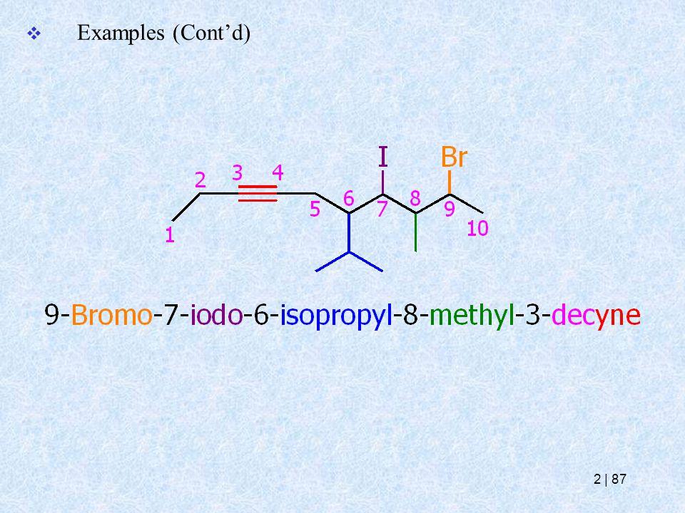 Examples (Cont'd) 2   87