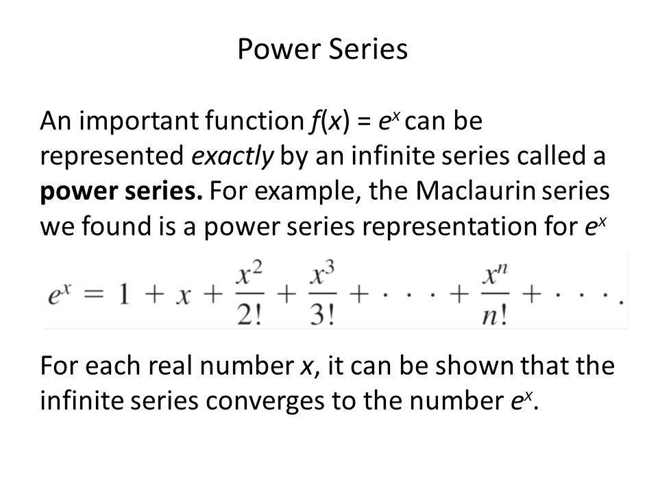 Ex: Determine the radius and interval of convergence: Series converges Series diverges