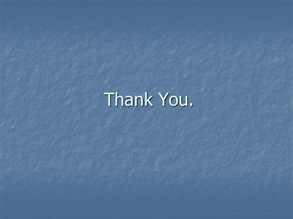 Thank You. Thank You.