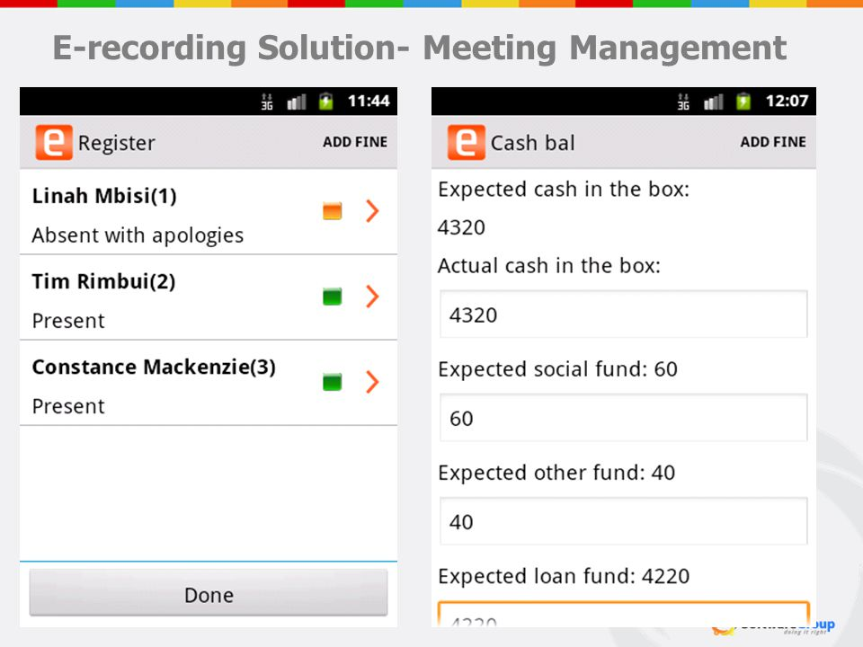 E-recording Solution- Meeting Management 18