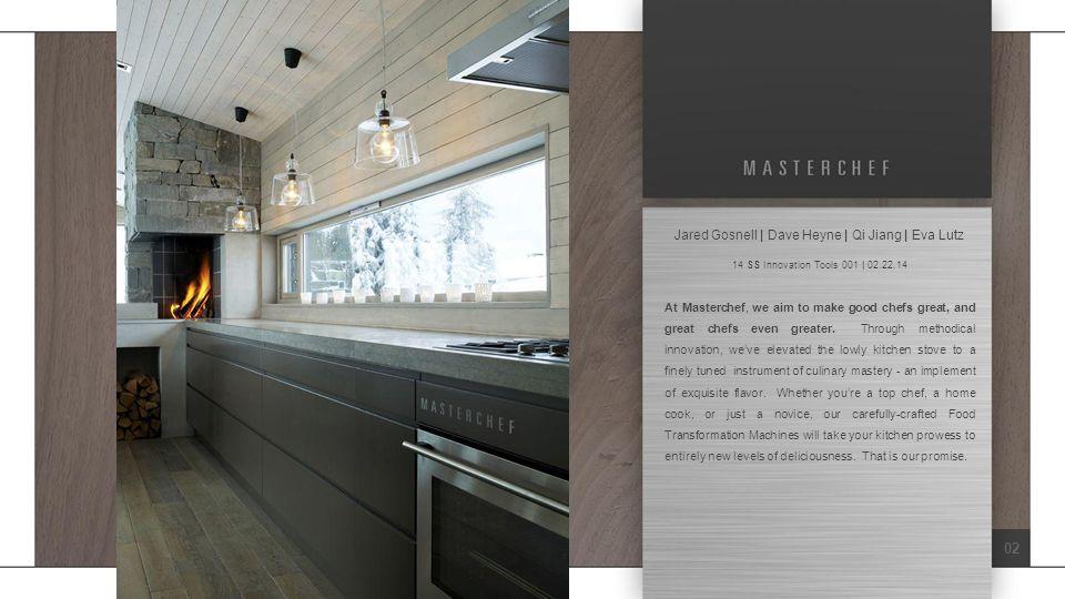 03: No-Stove Cooking Module Description (Cont'd): No exhaust fan, in the kitchen.