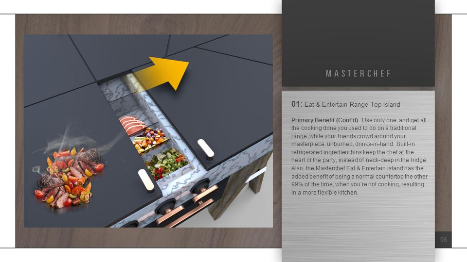 17 05: Kitchen Coach Oven & Range SIT Method Applied: Task Unification / Multiplication – A range that is also your recipe .