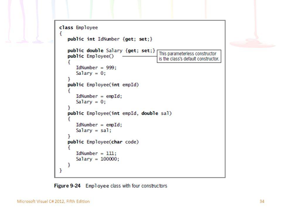34Microsoft Visual C# 2012, Fifth Edition