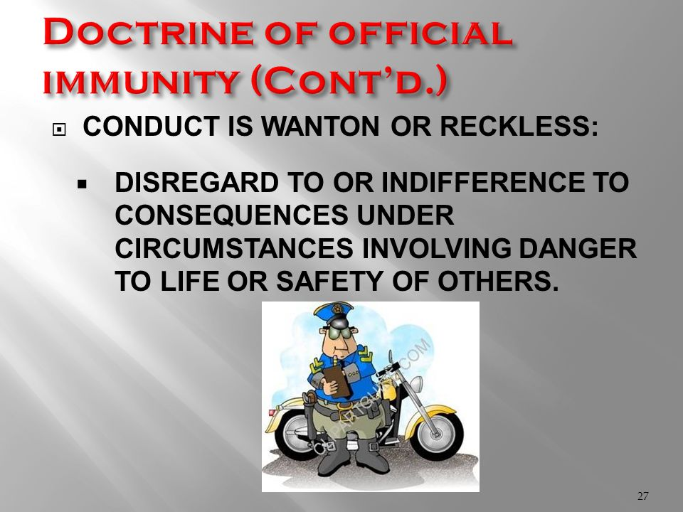 CONDUCT IS WANTON OR RECKLESS:  DISREGARD TO OR INDIFFERENCE TO CONSEQUENCES UNDER CIRCUMSTANCES INVOLVING DANGER TO LIFE OR SAFETY OF OTHERS.