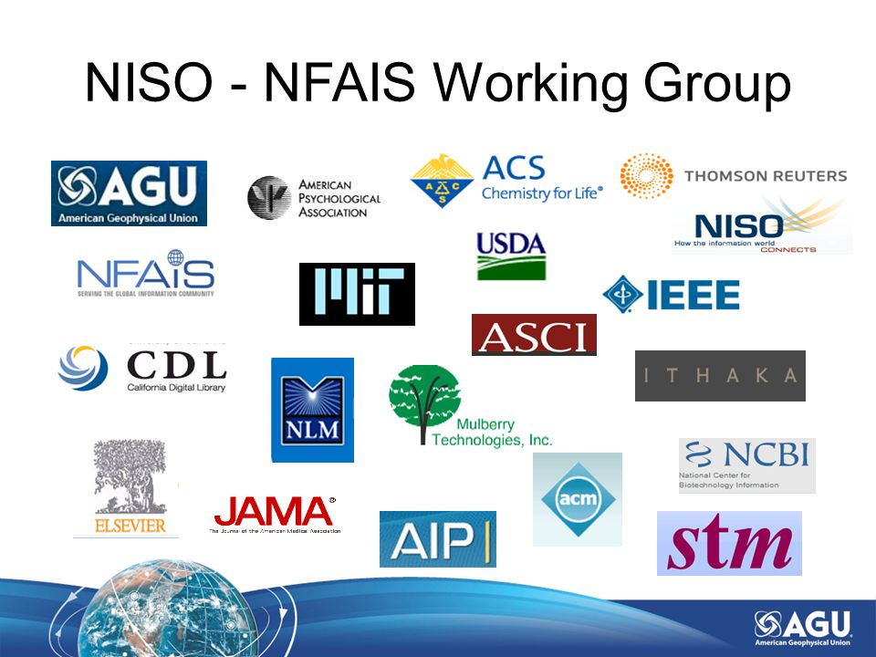 NISO - NFAIS Working Group