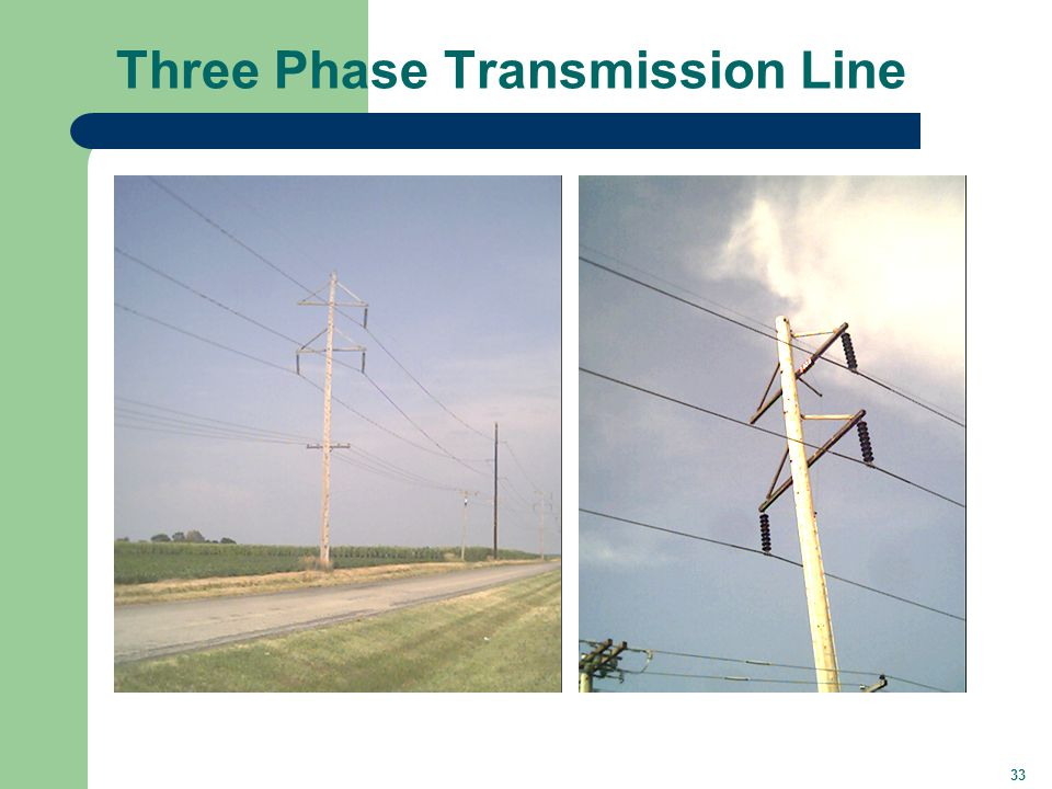 33 Three Phase Transmission Line