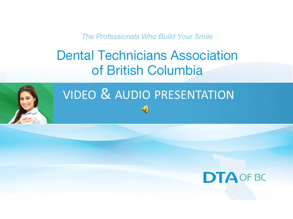 VIDEO & AUDIO PRESENTATION