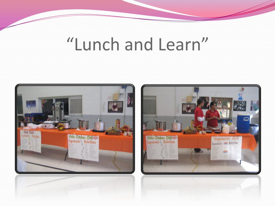 """Lunch and Learn"""