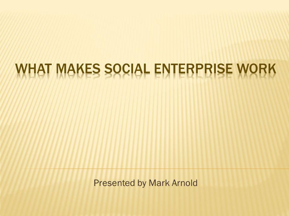 OCH has an entrepreneurial view.