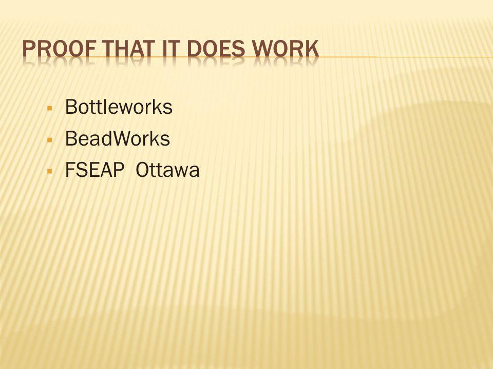  Bottleworks  BeadWorks  FSEAP Ottawa