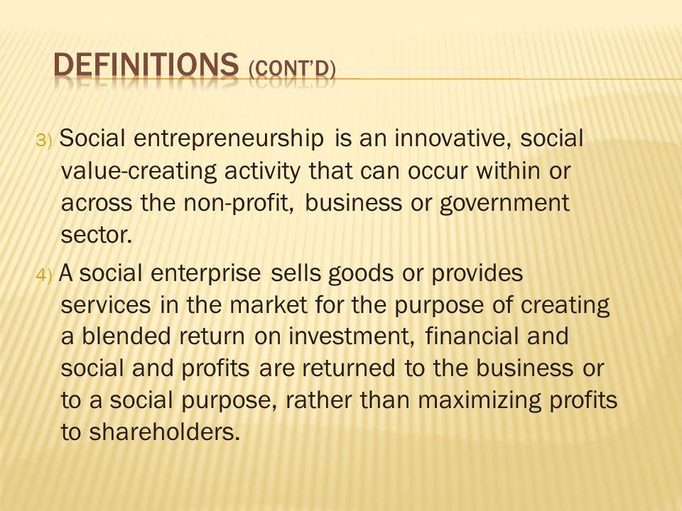  Community economic development initiatives provide local jobs.