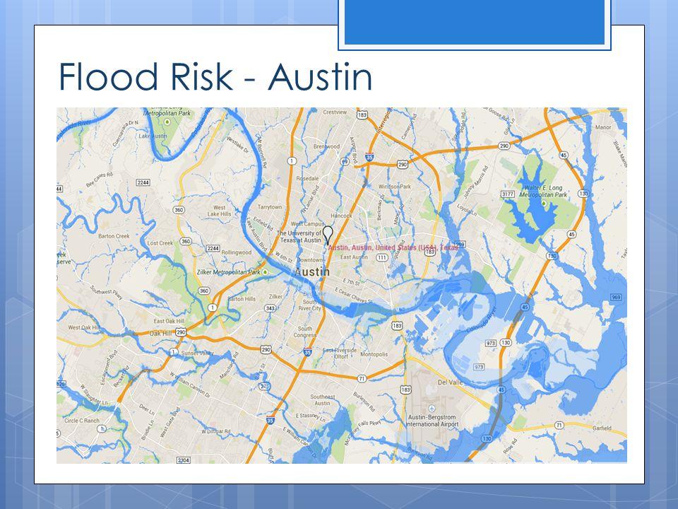 Flood Risk - Austin