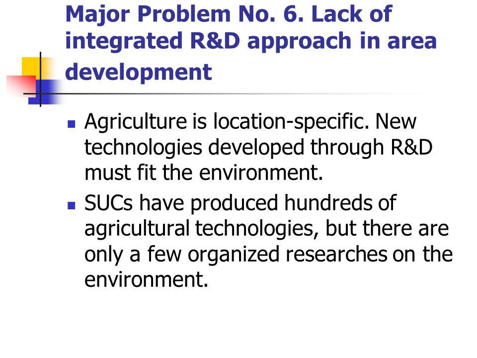 Major Problem No. 6.