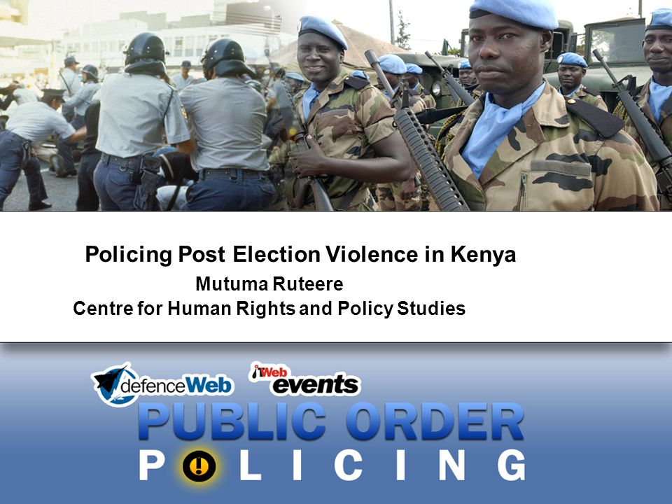 2 Post-Election Violence in Kenya December 2007 elections pitted incumbent, President Mwai Kibaki of PNU against Raila Odinga of ODM.