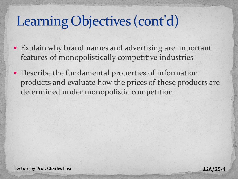 12A/25-15 Question How much advertising should be undertaken.