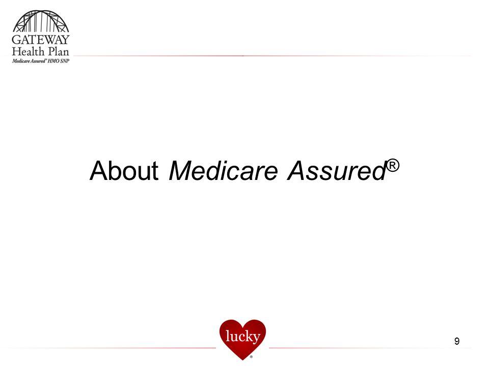 9 About Medicare Assured ®