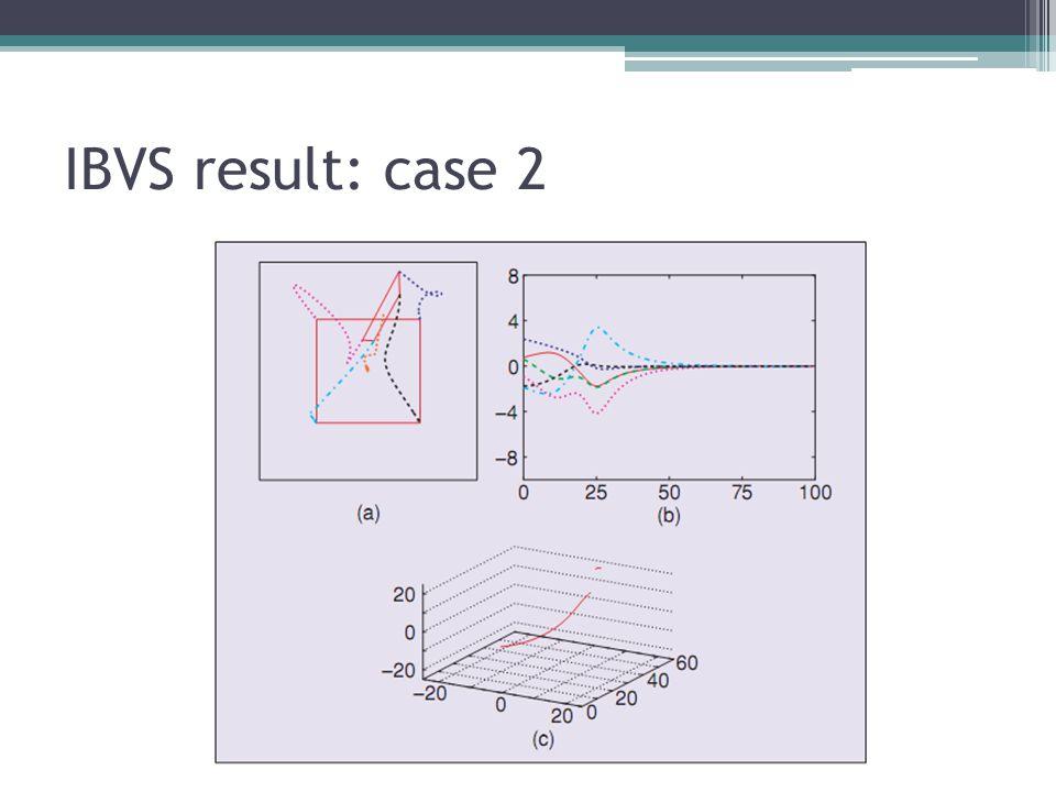 IBVS result: case 2