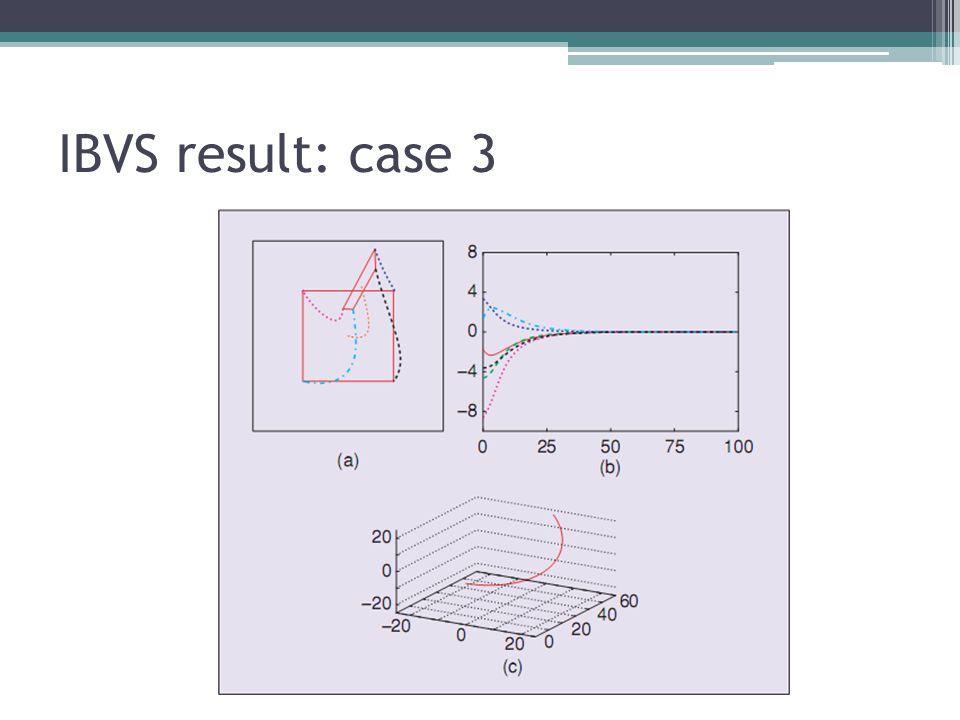 IBVS result: case 3