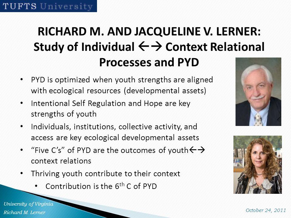 RICHARD M. AND JACQUELINE V.
