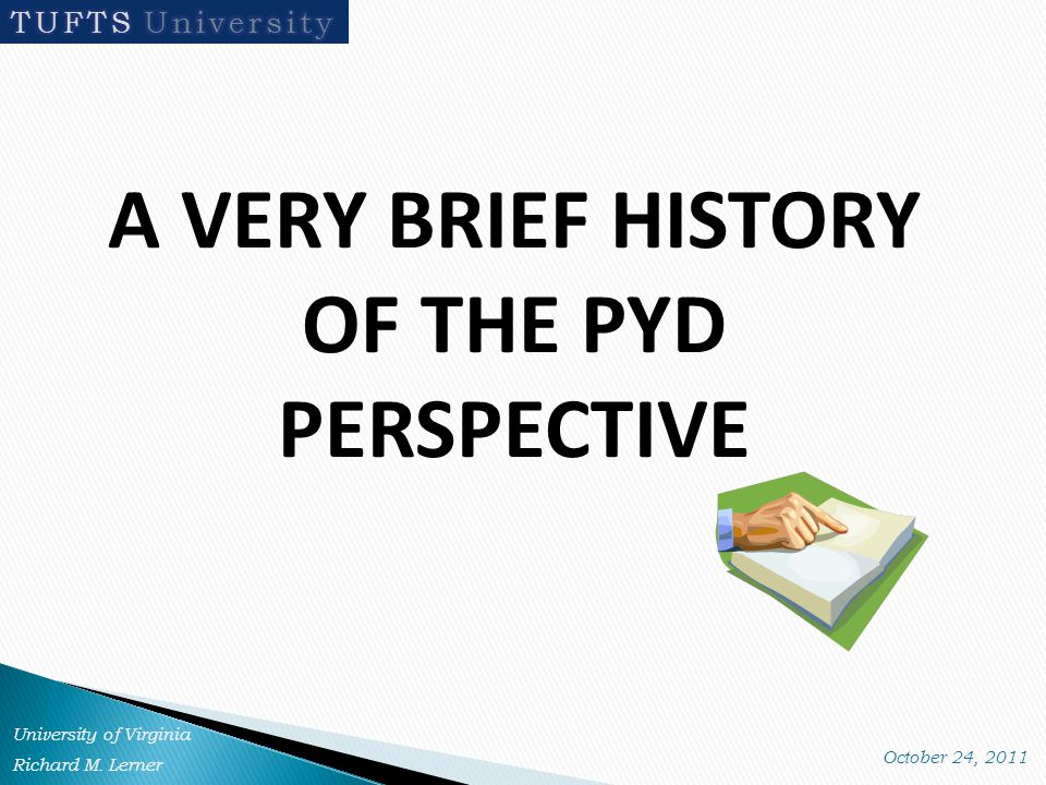 Key Ecological Assets Promoting PYD are: Individuals Institutions Collective Action Access In each family, school, and community setting, and within and across grades, INDIVIDUALS are always the most important asset in predicting PYD and Contribution