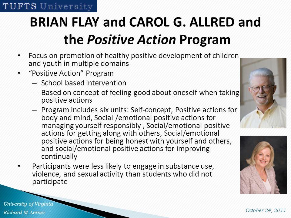 BRIAN FLAY and CAROL G.