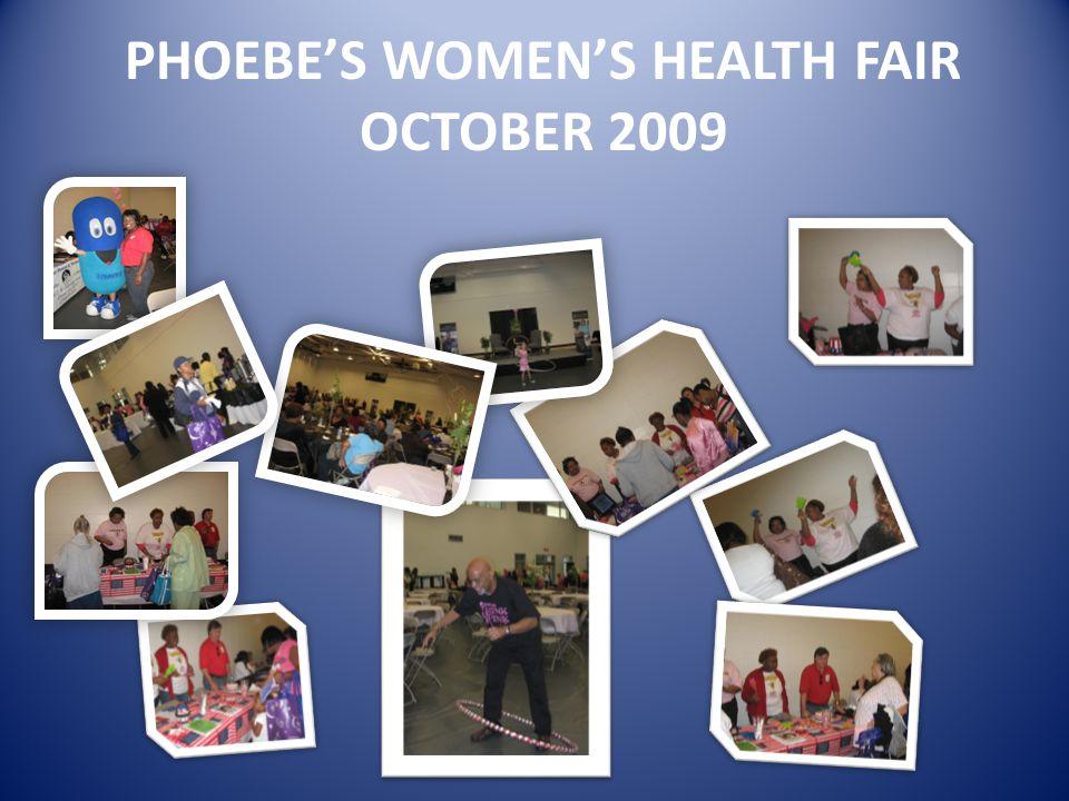 PHOEBE'S WOMEN'S HEALTH FAIR OCTOBER 2009