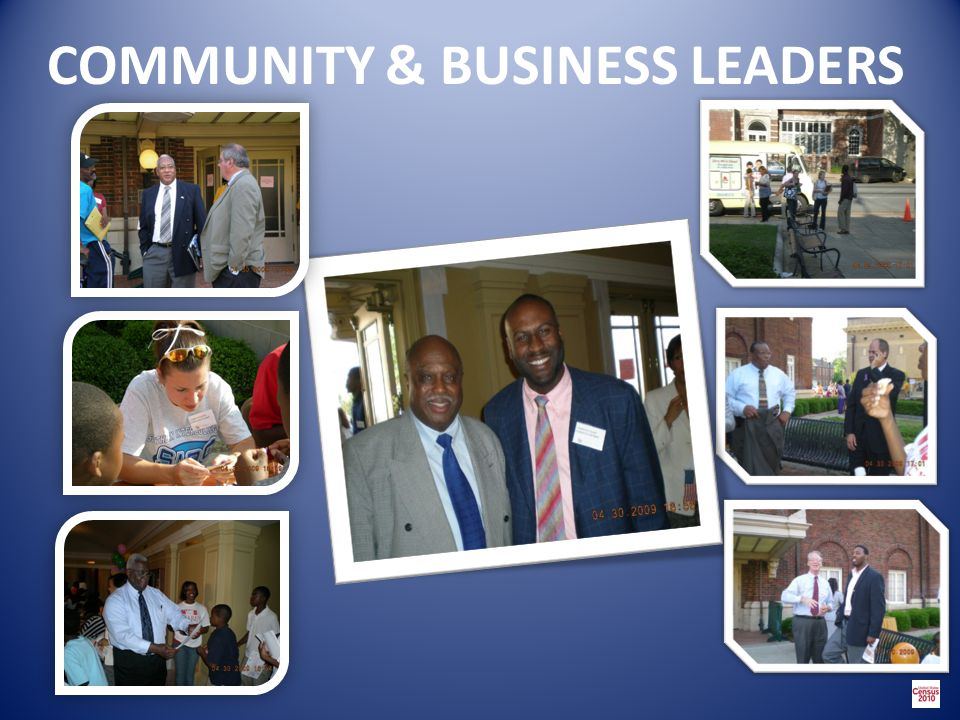 COMMUNITY & BUSINESS LEADERS
