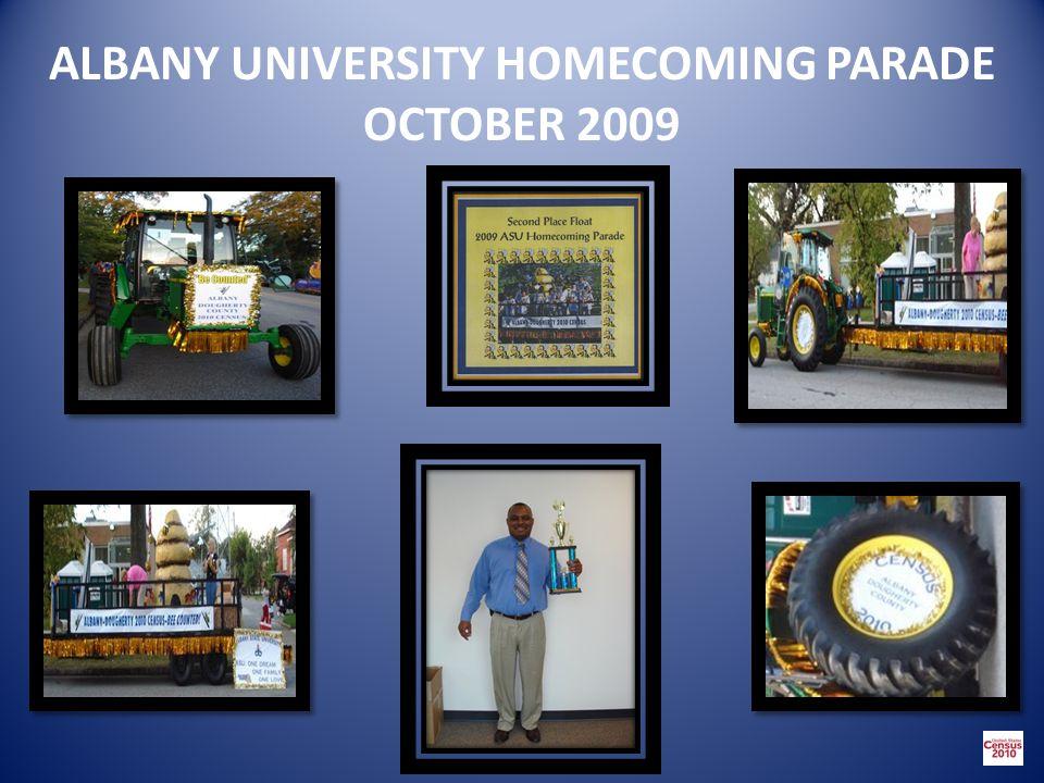 ALBANY UNIVERSITY HOMECOMING PARADE OCTOBER 2009