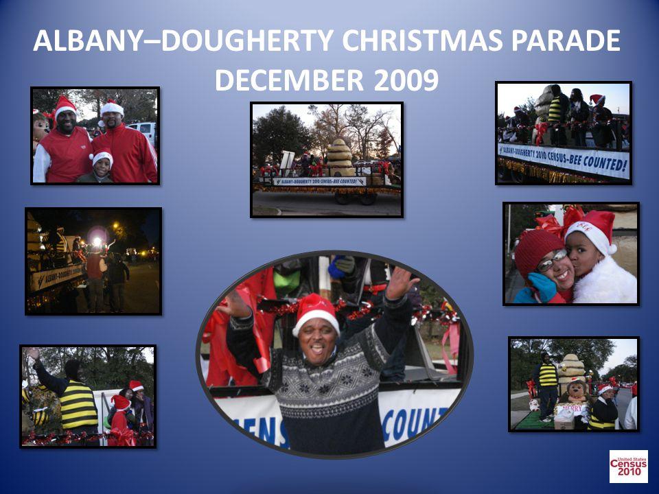 ALBANY–DOUGHERTY CHRISTMAS PARADE DECEMBER 2009