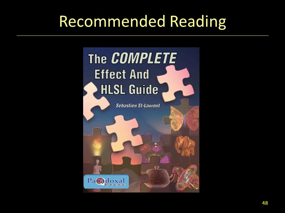 Recommended Reading 48