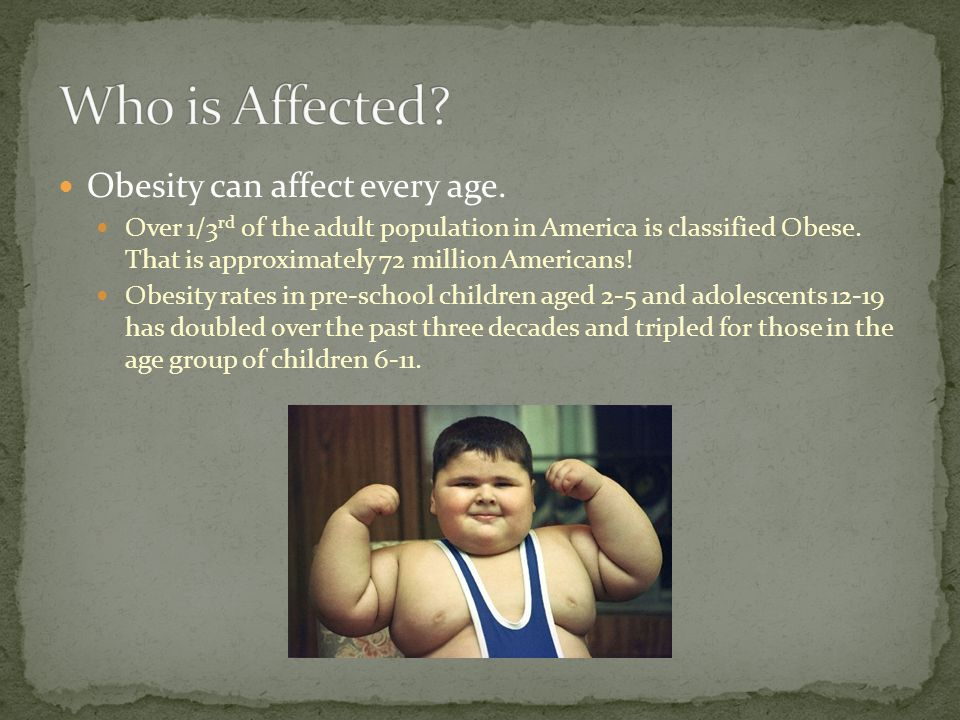 Obesity is defined as excess adipose (fat) tissue.