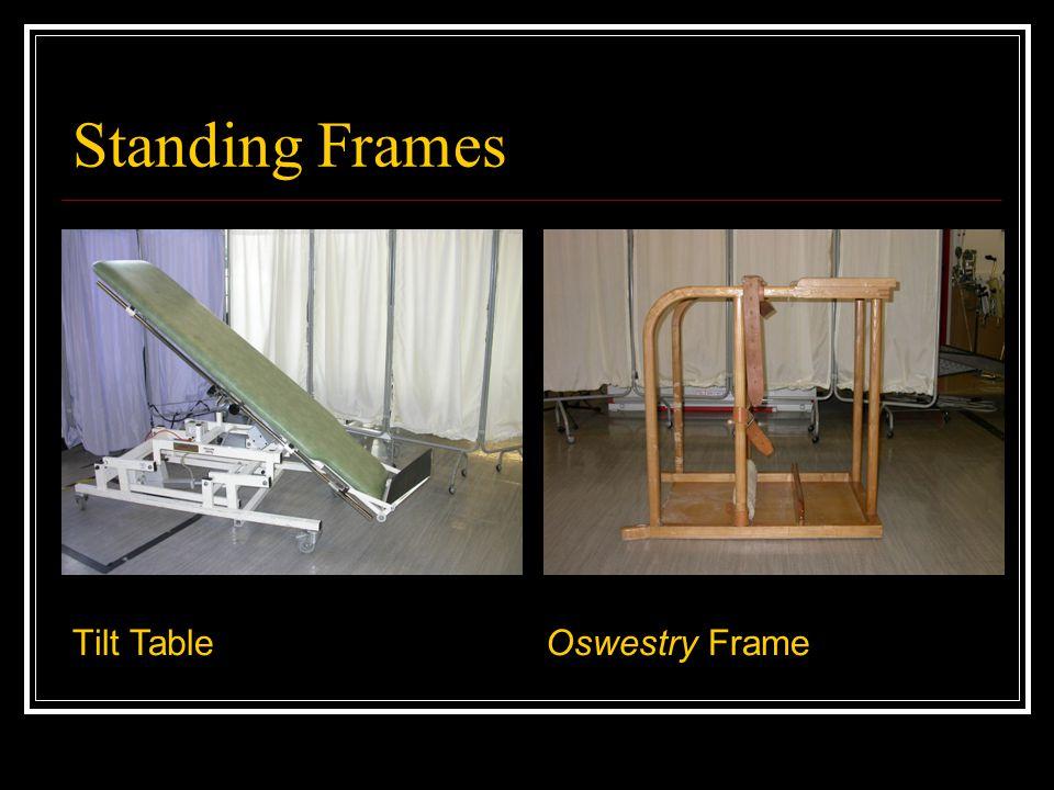 Standing Frames Tilt Table Oswestry Frame