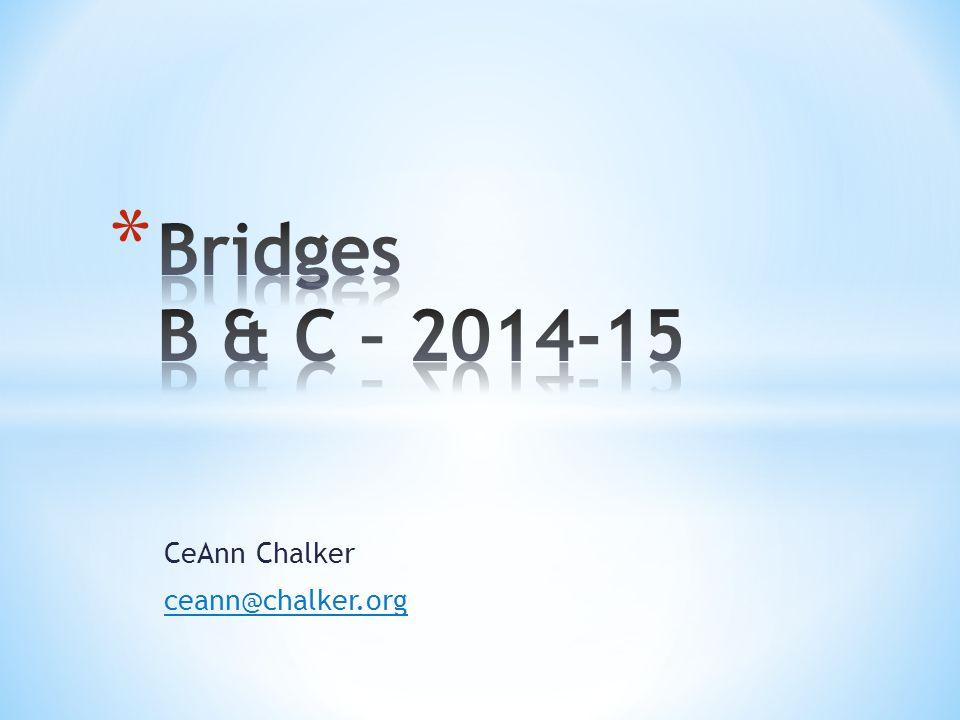 CeAnn Chalker ceann@chalker.org