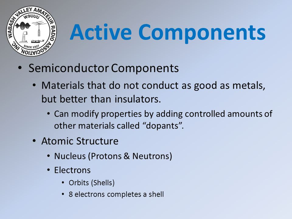 Vacuum Tubes Active Components