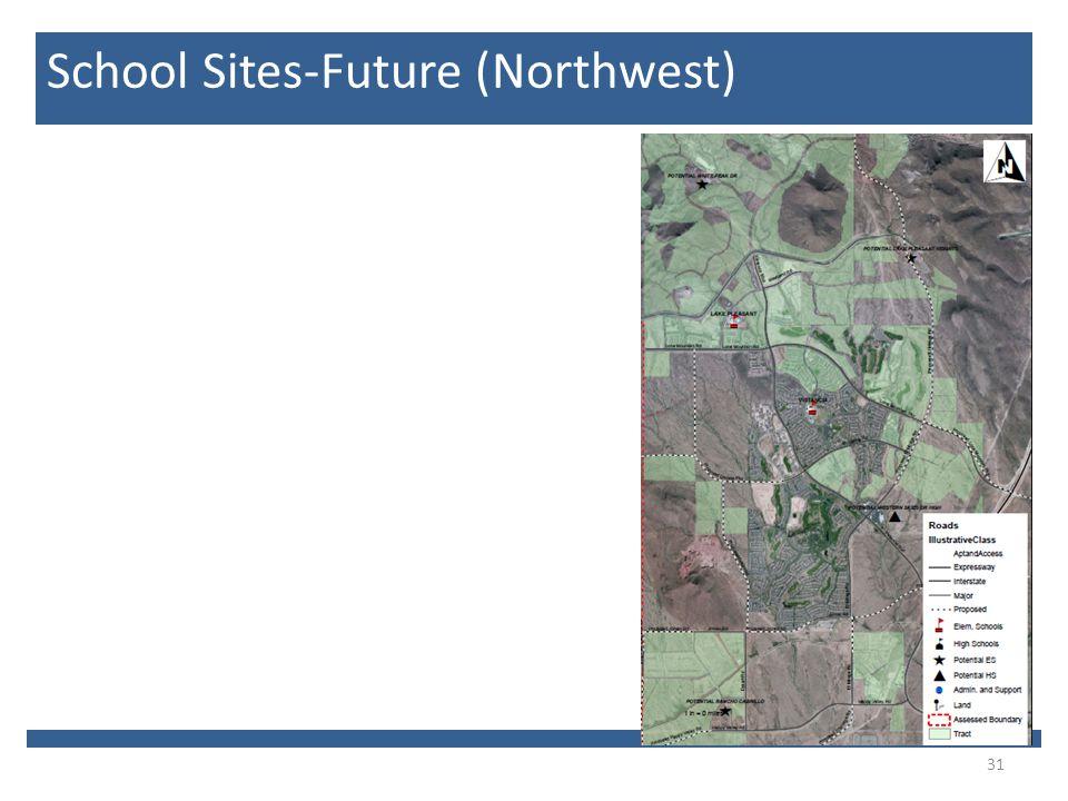 31 School Sites-Future (Northwest)