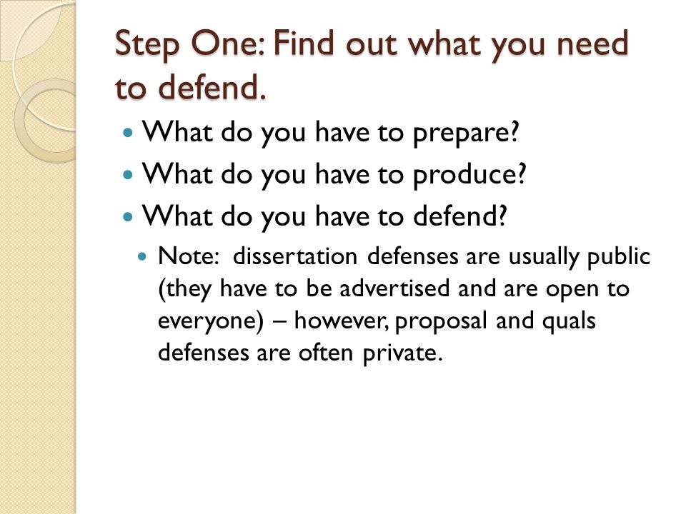 Dissertation Proposal Powerpoint Defense