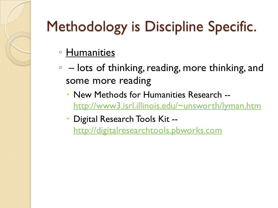 Method: SSB ◦ Social and Behavioral Sciences – IRB.