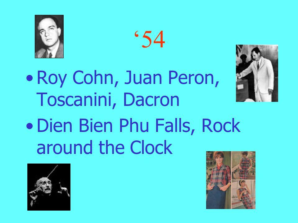 '53 Joseph Stalin, Malenkov, Nasser and Prokofiev Rockefeller, Campanella, Communist Bloc