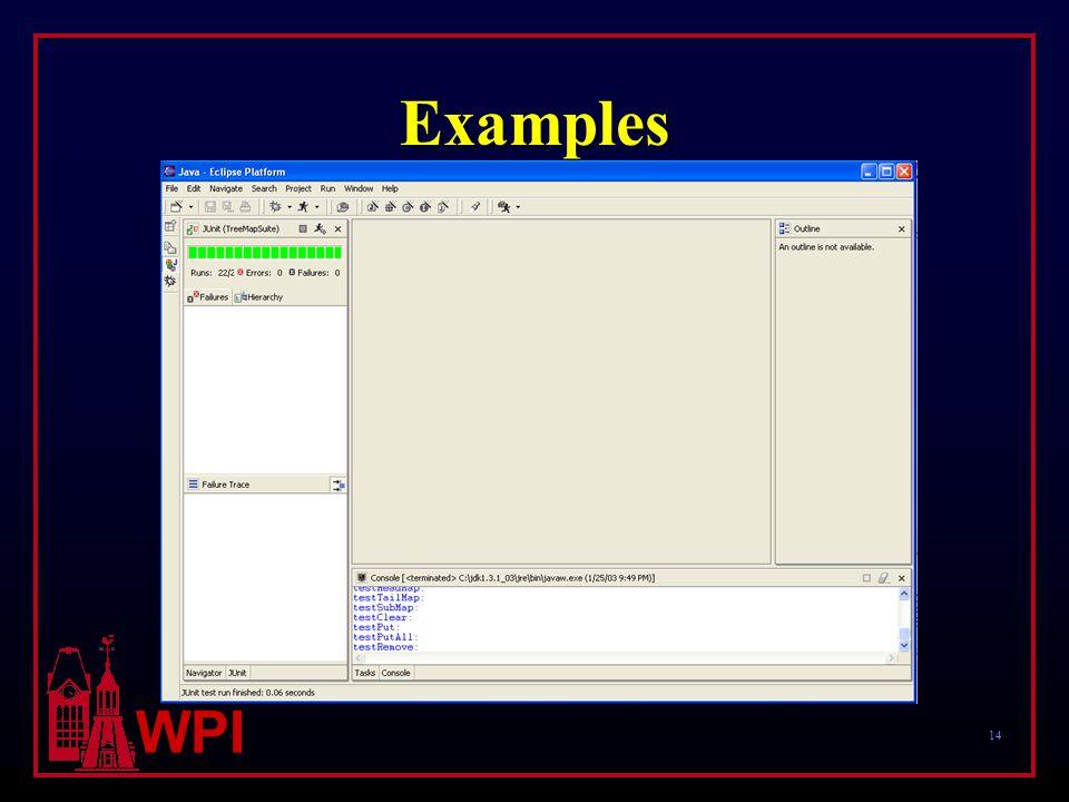 14 WPI Examples