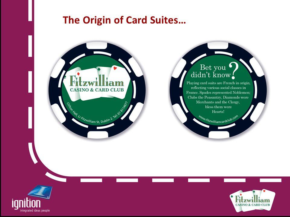The Origin of Card Suites…
