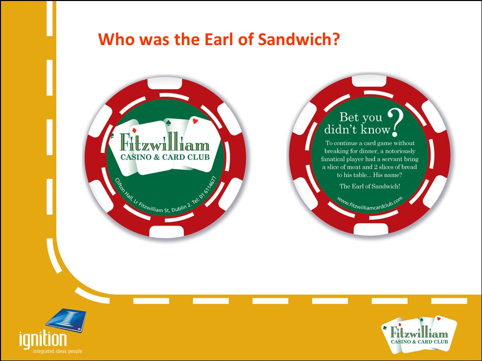 Who was the Earl of Sandwich?