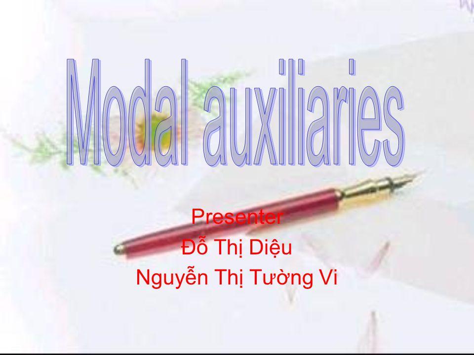 Presenter Đỗ Thị Diệu Nguyễn Thị Tường Vi