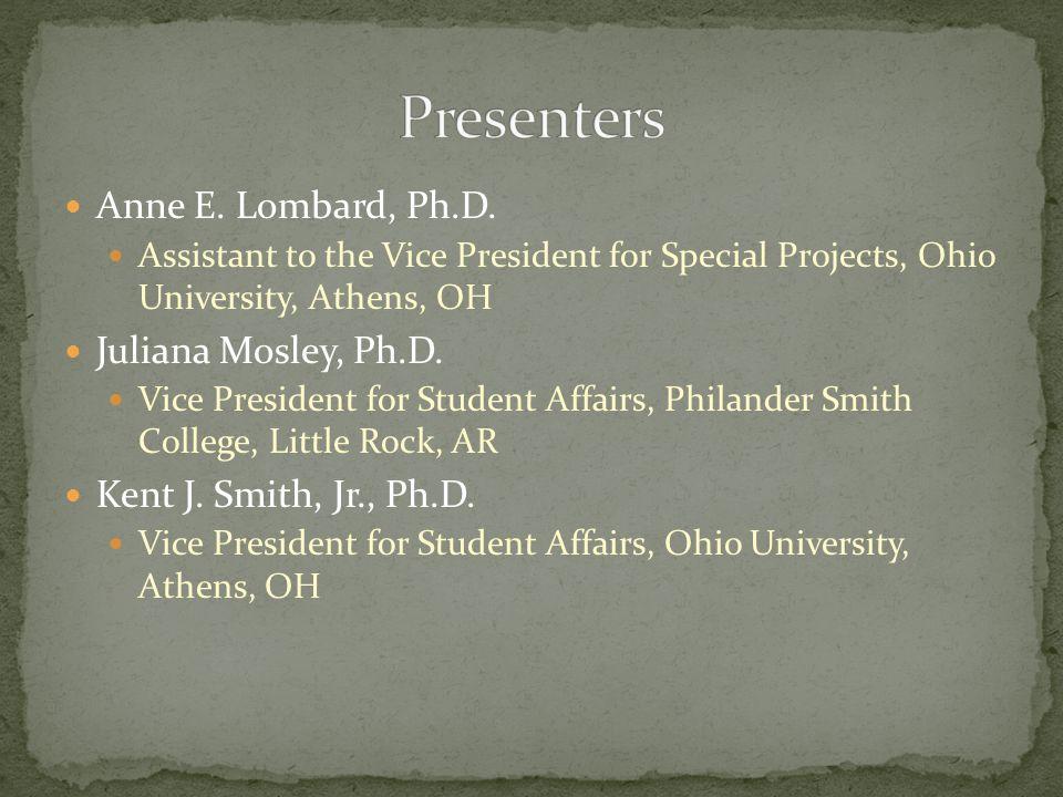 Anne E. Lombard, Ph.D.
