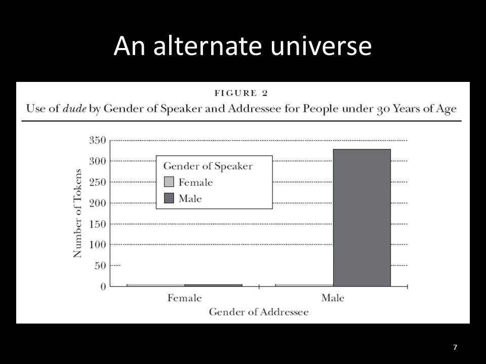An alternate universe 7