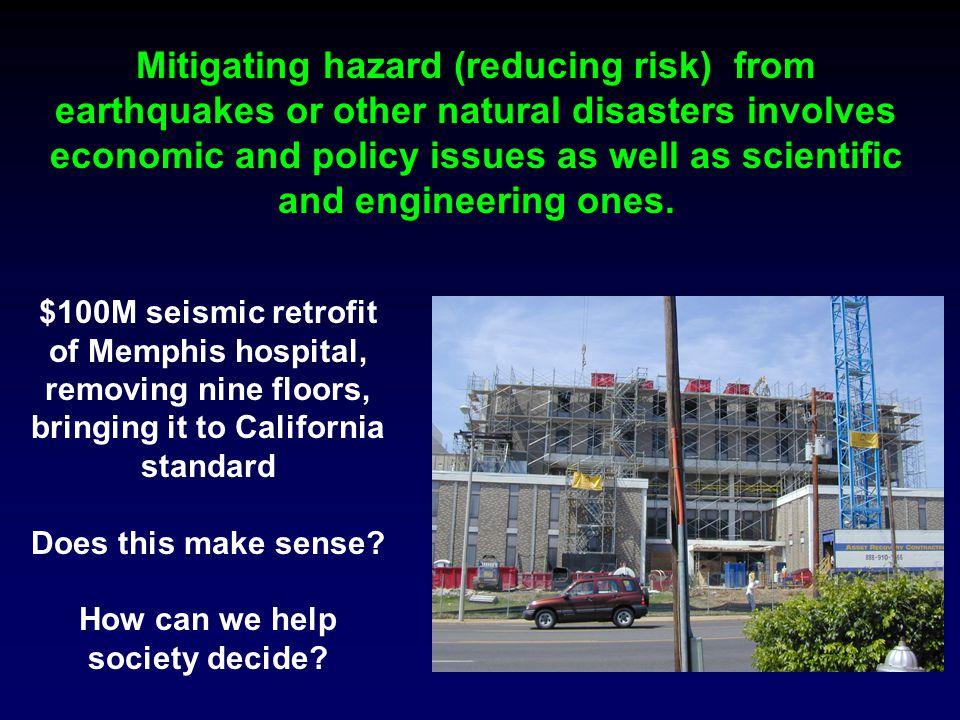 $100M seismic retrofit of Memphis hospital, removing nine floors, bringing it to California standard Does this make sense.